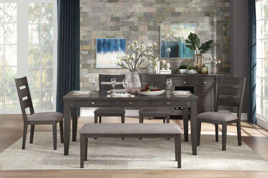 Pleasing 5674 72 Dining Table 4 Chairs Bench Ncnpc Chair Design For Home Ncnpcorg