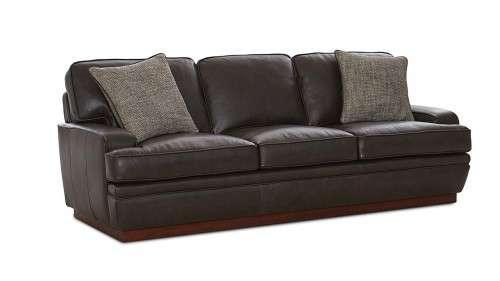 Stinson Three Seat Leather Sofa Savvy