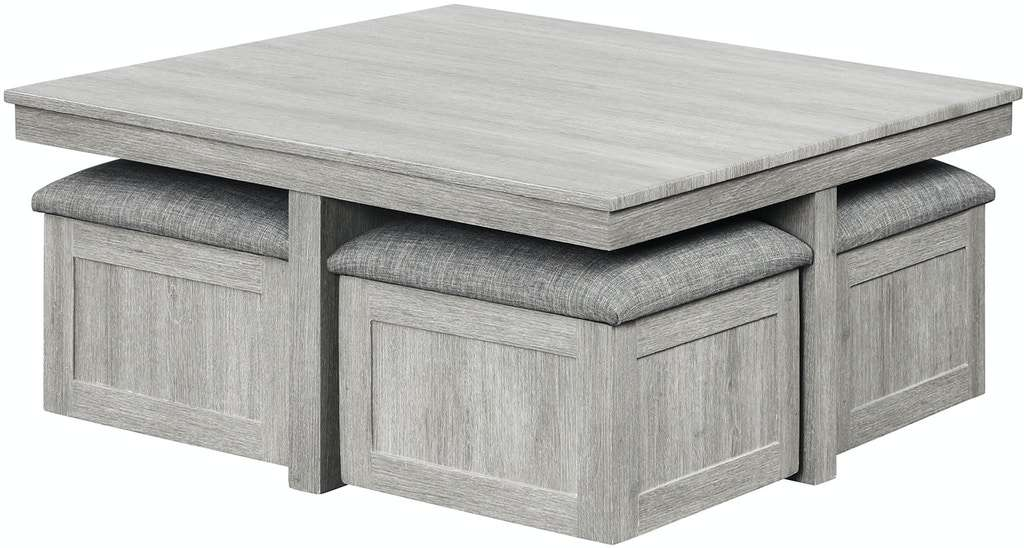 Uster Coffee Table With 4 Stools Savvy Furniture